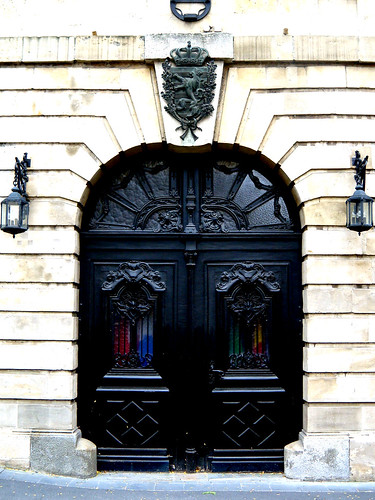 door to ministry of foreign affairs