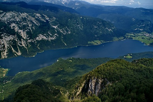 "Lake Bohinj From Mount Vogel • <a style=""font-size:0.8em;"" href=""http://www.flickr.com/photos/26679841@N00/2800270405/"" target=""_blank"">View on Flickr</a>"
