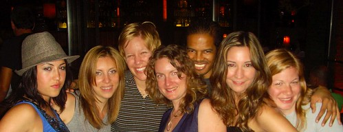 Alana, Jill, Chrissie, Flo, Bill, Michelle & Whitney