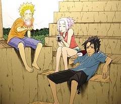 Naruto ~A hot Summer~ (anime27fan [gone...]) Tags: summer hot anime sakura naruto uzumaki sasuke uchiha rasengan