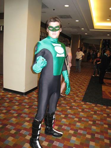 Green Lantern - Kyle Rayner recent costume