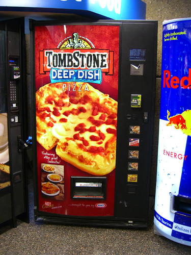 Pizza Vending Machines: New Levels Of Culinary Repugnance