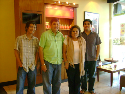Pepito, Mayor Cataquiz, Ms. Yatco of Biñan & me