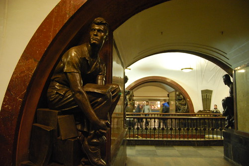 In the Moscow Metro