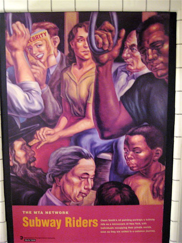 Subway Riders Poster