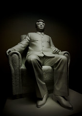Kim Il Sung statue  Korean Central History Museum - North Korea (Eric Lafforgue) Tags: pictures travel photo war asia picture korea kimjongil asie coree journalist journalists northkorea  dprk coreadelnorte 0701 juche kimilsung nordkorea lafforgue  ericlafforgue   coredunord coreadelnord  northcorea coreedunord rdpc  insidenorthkorea  rpdc   coriadonorte  kimjongun coreiadonorte