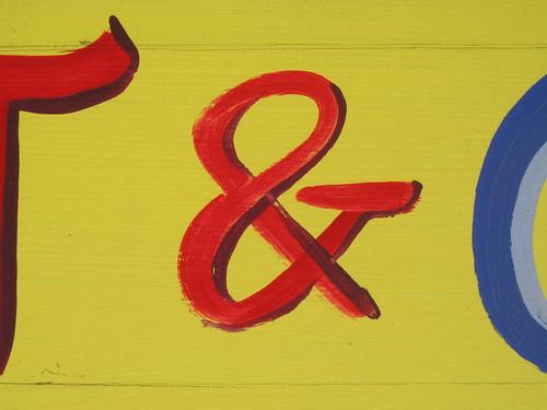 yellow ampersand 2