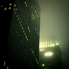 misty gotham (.michaelchung) Tags: street nyc newyork building misty high manhattan midtown mysterious michaelchung rise gotham 42nd tudorcity