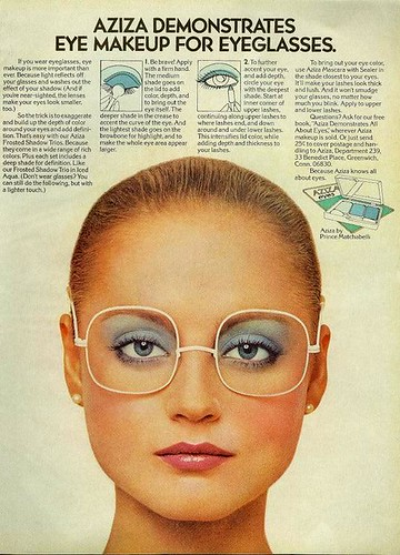 Eye makeup for eyeglasses / Page