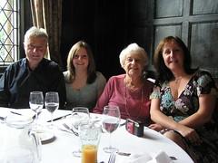 Steve, Lauren, aunty Joyce and Angela (porcracer) Tags: joyce 80 aunty