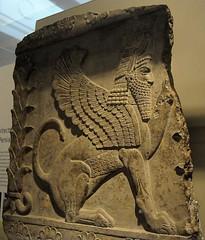 Winged male sphinx (Nickmard Khoey Historical Archive) Tags: iran iranian persia persian achaemenid imperial bm britishmusuem nickmard wwwnickmardcom