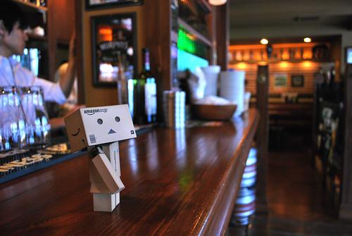 danboard in the pub