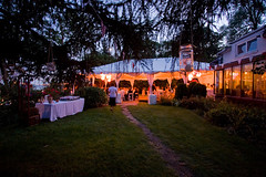 The tent at night (Celine Kim) Tags: ourwedding outdoorwedding 090608 jinceline
