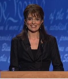 Tina Fey as Sarah Palin
