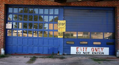 Neat Blue Doors