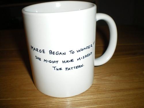 Marge mug - back