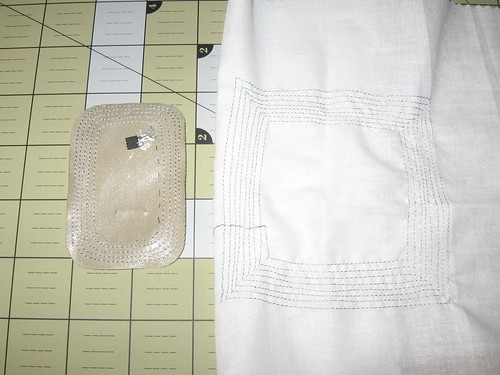 Cloth RFID tag prototypes