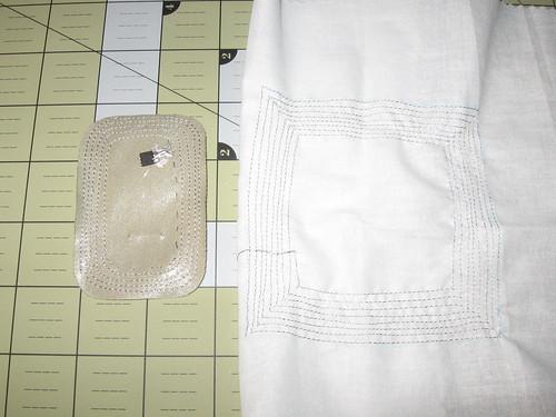 Cloth RFID tag prototypes