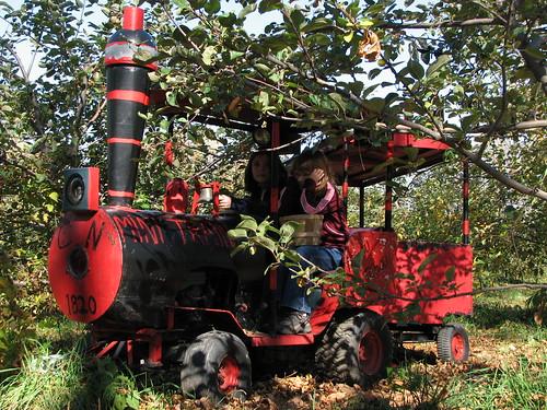 The apple train