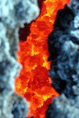 Mt. Etna or barbecue grill? (╬Thomas Reichart ╬) Tags: italien italy oktober mountain landscape volcano lava october glow bbq barbecue heat sicily inside 2008 etna vulkan sizilien vulkane valledelbove süditalien ätna