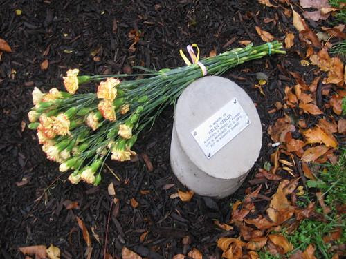 Helen Keeler's Memorial