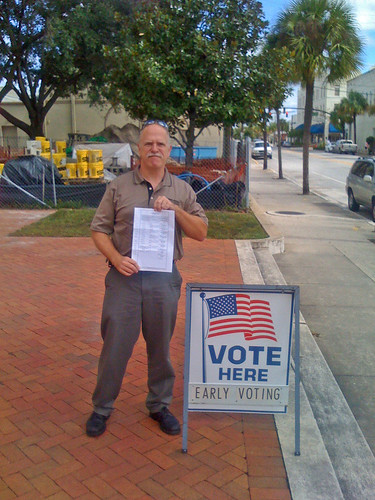 Voting: Tim with Sample Ballot