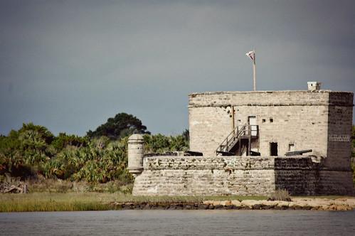 Fort Matanzas, built 1740-1742