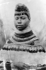 Ruby--Charlie Tigertail's Sister (State Library and Archives of Florida) Tags: portrait woman beads florida seminoles nativeamerican everglades miccosukee womensday chokoloskee rubytigertail statelibraryandarchivesofflorida