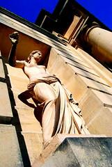 The Statue sans Madman (The Big Jiggety) Tags: france castle statue arcade classical chateau schloss castello iledefrance soe castillo halfnaked vincennes levau