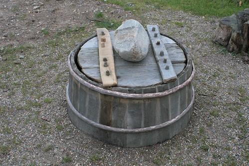 Wasserbrunnen in Haithabu 01-11-2008