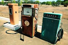 Three pumps