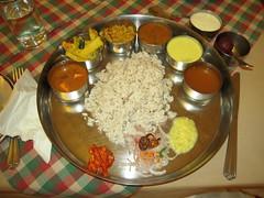 Abad Thali (Jennifer Kumar) Tags: india kerala kochi indianfood thali abad restaurantreviews southindianmeal india2008 keralajune2008 abadthali