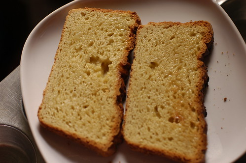 toast from the new gluten-free bread