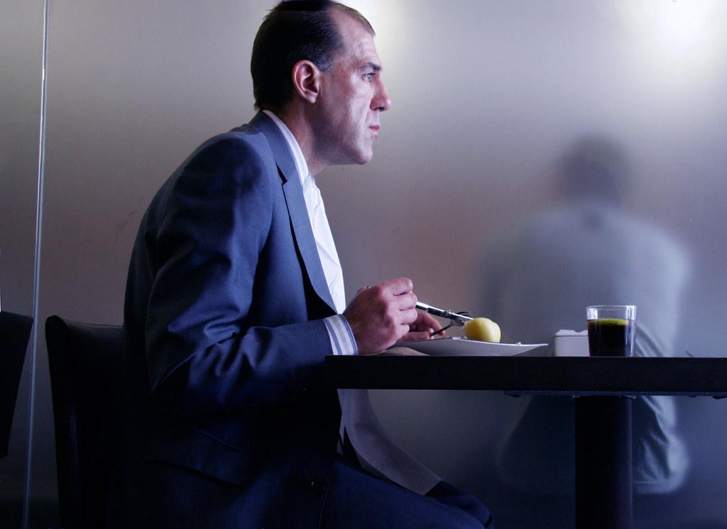 El hombre del menu
