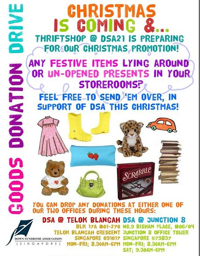 DSA Thrift Shop Goods Donation Drive