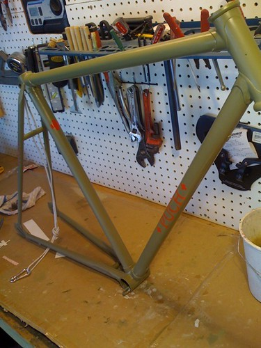 Puch Custom Fixed Gear Bicycle