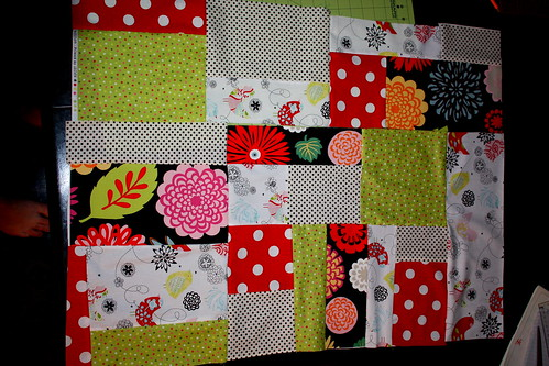sewed all together