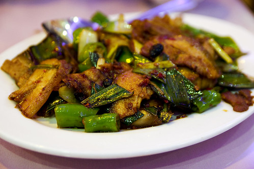Double Sauteed Pork w. Spicy Capsicum