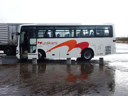旅行はバスで!