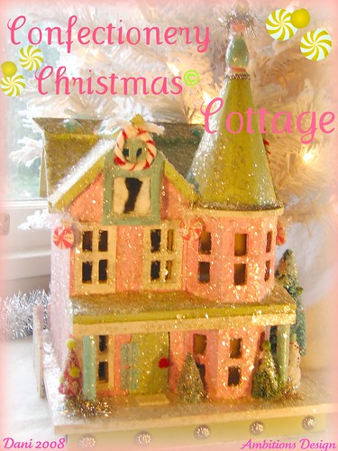 Confectionery Cottage Christmas for SpookyTimeJingles .com