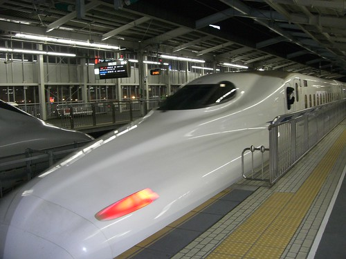 "N700系新幹線のぞみ/N700 Series Shinkansen ""Nozomi"""
