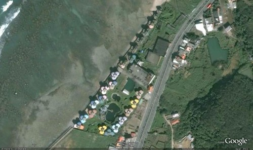 Googe Earth Pod Village