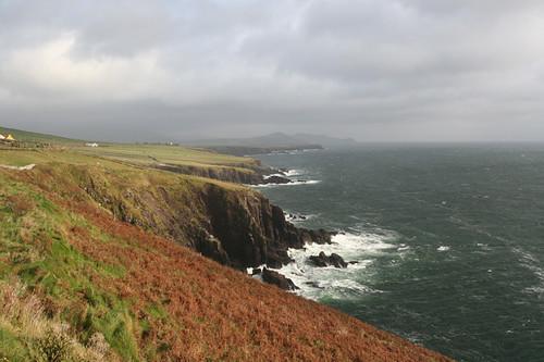 Dingle peninsula coastline