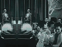 Candy Cigarette short promo film (alexander.h.chen) Tags: old blackandwhite music vintage video dancers singer musicvideo 40s candycigarette crooner boyinstatic