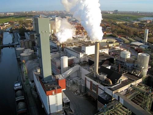 Beet root sugar refining factory, Vierverlaten, Netherlands