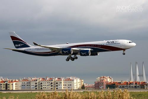 Arik Air / Hi Fly Airbus A340-542