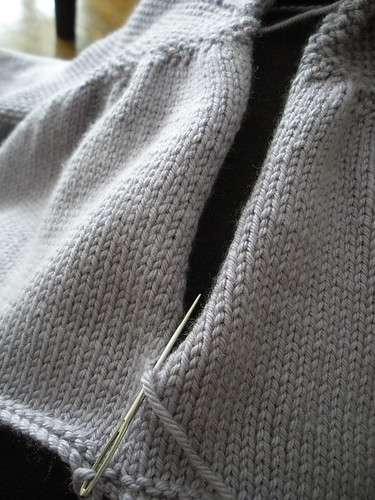 seaming brunch jacket