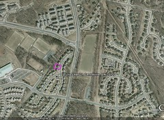 #3 neighborhood context (image by Google Earth, marking by me)
