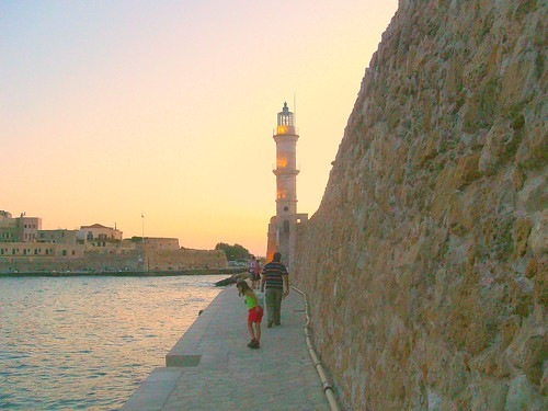 lighthouse hania chania