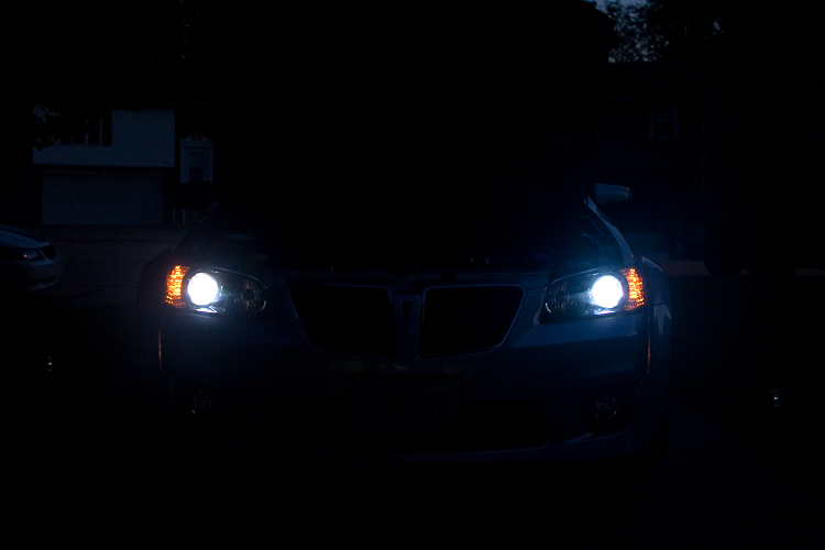 HID's and Interior LED Light Installed